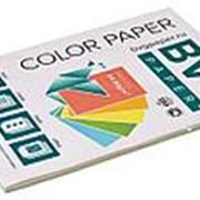 BVG Paper Бумага цветная BVG, А4, 80г, 50л/уп, радуга 5 цветов, пастель фото