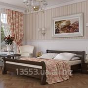 Кровать Диана бук 140x190/200 см фото