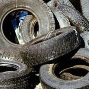 Утилизация отработанных шин фото