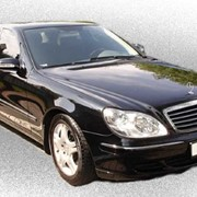 Прокат автомобилей без водителя Mercedes W220 фото