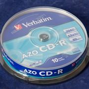 Диск CD-R Verbatim Cake фото