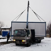 Автоманипуляторы. Услуги кран-манипуляторов Киев. фото
