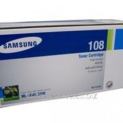 Заправка картриджа Samsung MLT-108 фото