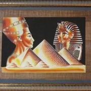 Обрамление папируса фото