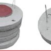 Квадратная плита для перекрытий колодев 1 м × 1 м фото