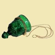 Лампада подвесная Чаша (зеленая). Арт.Ст.1942 фото