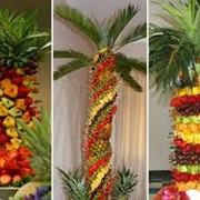 Фруктовые композиции (фруктовая пальма) фото