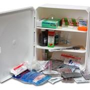 Аптечка для производственных предприятий в пластиковом шкафу фото