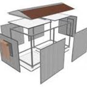Здания быстро монтируемые, , БМЗ. Модульные домики. фото