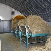 Измельчитель соломы стационарный 2500кг.час.45кВт. фото