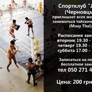 Профессиональный тренер по тайскому боксу(муай тай) фото