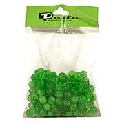 Бусинки 10 мм прозрачные цветные, зеленый фото