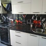 Модульная кухня из акрила фото