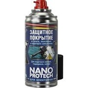 Защитное покрытие для лодочного мотора, гидроцикла, катера. Для электрики.Nanoprotech, 210мл. фото