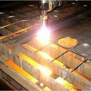 Резка алюминиевого металлопроката фото