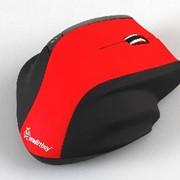 Мышь беспроводная оптическая SMARTBUY SBM-613AG-R/K красный фото