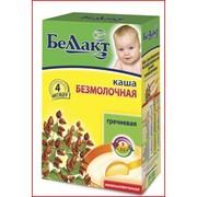 Каша сухая быстрорастворимая для детского питания гречневая фото