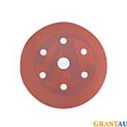 Круг абразивный INDASA d=150мм 6+1 отверстий RED фото
