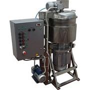 Куттер (вакуумный, регулируемый, с подогревом, механизированными мешалкой и выгрузкой) ИПКС-032-50РП(Н) фото