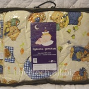 Одеялко детское всесезонное 140*110 хлопок, бязь фото