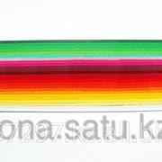 Бумага набор №53 130гр., 150мм., 200 полос, 25 цветов цветной микс 1 мини фото