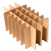Решетки, комплектующие для тары и упаковки, гофрокартонные перегородки фото