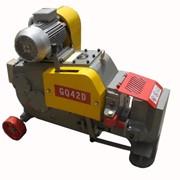 Станок для резки арматуры Ø до 42 мм. GQ42D фото