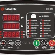 DATAKOM DKG-317 Контроллер ручного и дистанционного управления генератором фото