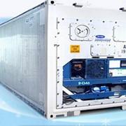 40-футовый рефрижераторный контейнер фото