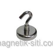 Магнит неодимовый держатель с крючком Z16 5,5 КГ фото