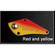 Блесна GT-BIO KingKong VI 18гр 8см красно-желтый фото