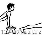 Сгибание и разгибание рук в упоре лежа на полу ГТО-007 фото