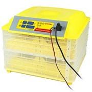 Инкубатор на 96 кур/я с термометром, влагомером и автопереворотом SITITEK 96 с питанием 220/ 12В фото