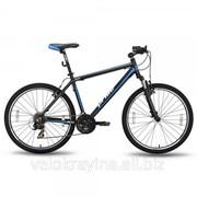 Велосипед 26'' PRIDE XC-2.0 черно-синий матовый SKD-08-93 фото
