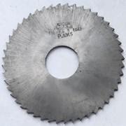 Фреза отрезная 100х2,5х27, Р6М5, тип 2, сред. зуб фото
