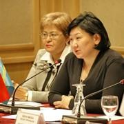 Услуги по развитию промышленности и торговли. Способствует развитию торговых, промышленных и экономических отношений между Казахстаном и Турцией фото