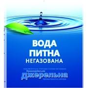 Вода питьевая негазированная родниковая. Хмельницкий. фото