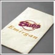 Салфетки двухслойные с фирменным логотипом клиента 33х33 см артикул 70002327 фото
