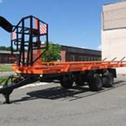 Полуприцеп транспортировки рулонов самосвальный ПТР-12С фото