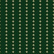 Ковролин (ковролан) Berber - Luiza зеленый с лилиями фото