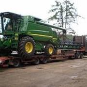 Перевозка сельхозтехники фото