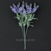 "Цветок искусственный ""Лаванда букет х5"" Q278 фото"