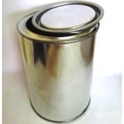Металлическая банка 4 литра с крышкой фото