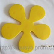 Цветок желтый Мини-коврики фото