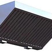 Зонт вытяжной пристенный ЗВП-С 1600х 400х400 d250 оцинк фото