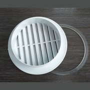 Вентиляционная решетка + армировочное кольцо фото