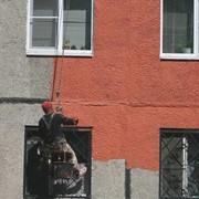 Окраска фасадов, сданий и сооружений фото