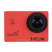 Экшн-камера SJCAM SJ4000 WIFI Version Camera Red, код 107161 фото