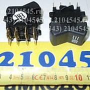 Выключатель П147-08.11 (клавиша) вентилятора отопителя Газель-2705 3-положения фото