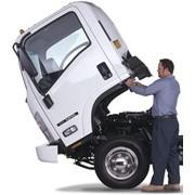 Ремонт грузовых автомобилей фото